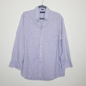 Tommy Hilfiger Regular Fit Button Down Shirt Large